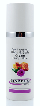 handcrème honey- rose
