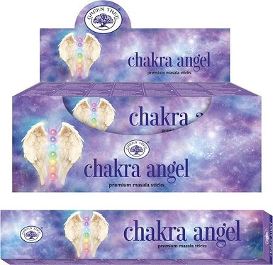 Chakra angel Green Tree