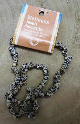 dalmatiër jaspis splitketting