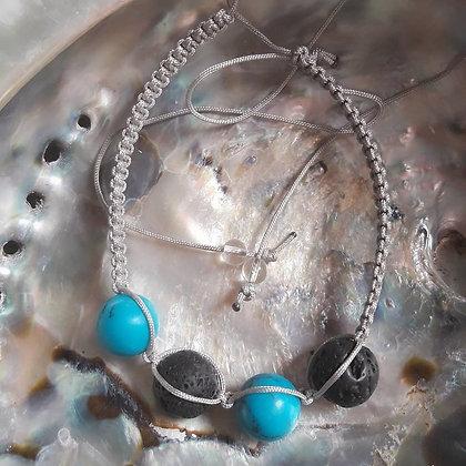 lavasteen & howliet blauw