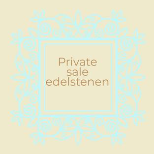 Private sale edelstenen