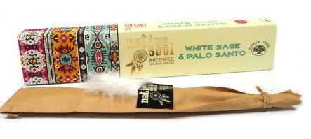 White sage & palo santo (Native Soul) Green tree