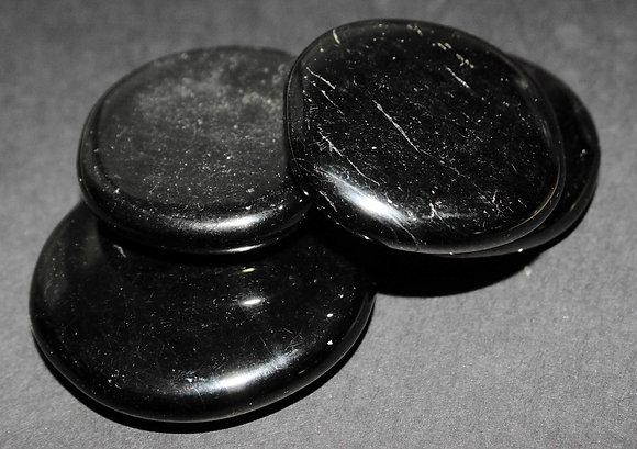 obsidiaan zwart