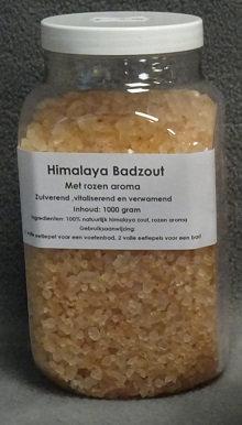 Himalaya zout rozen badzout