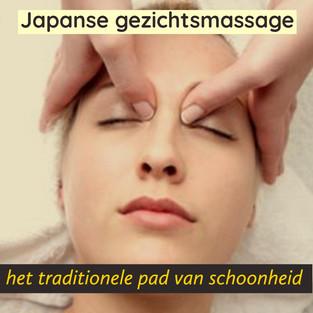 Japanse gezichtsmassage voor een mooiere huid