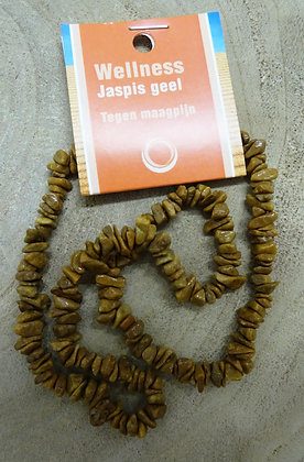 jaspis geel splitketting