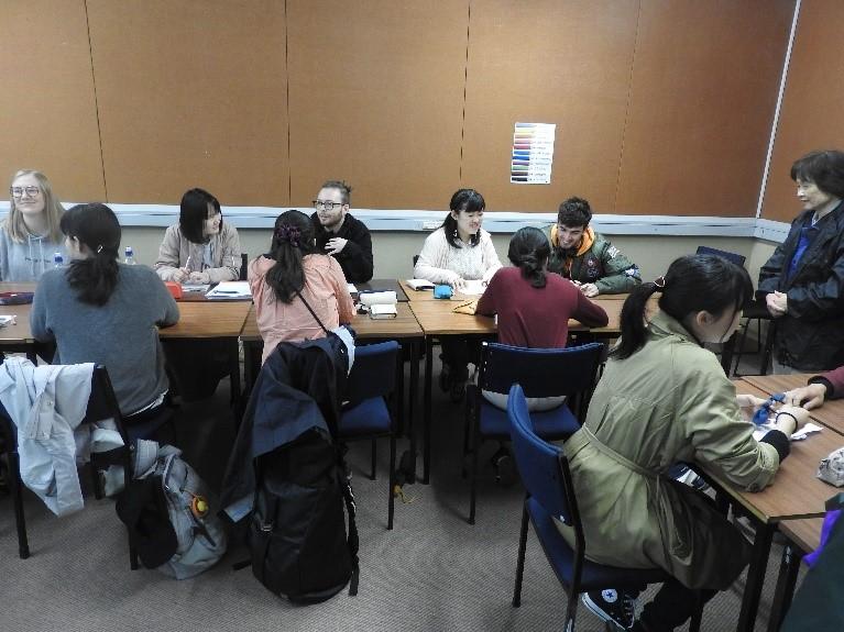 Language exchange with Kiwi students