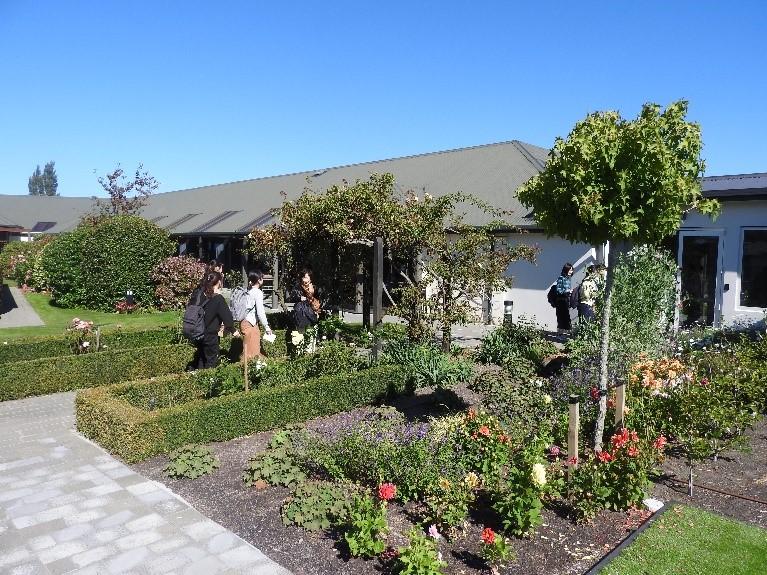 Visiting Elmswood Retirement Village