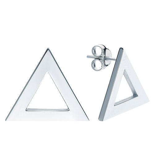 """Пусеты """"Треугольник"""""""
