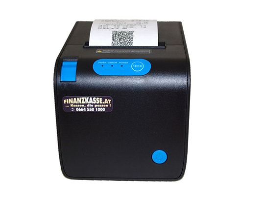Thermo-Bondrucker, USB und WIFI, 80mm, schwarz