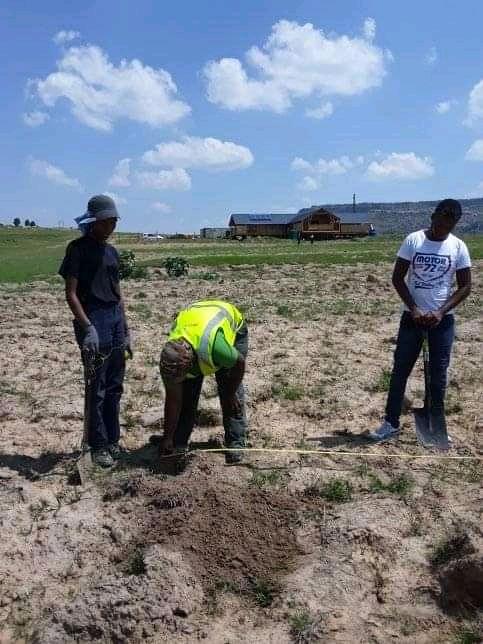 CSI Activity Planting Trees