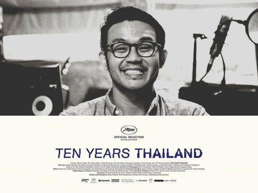 Kamontorn nominated for best editor from 10 Years Thailand.