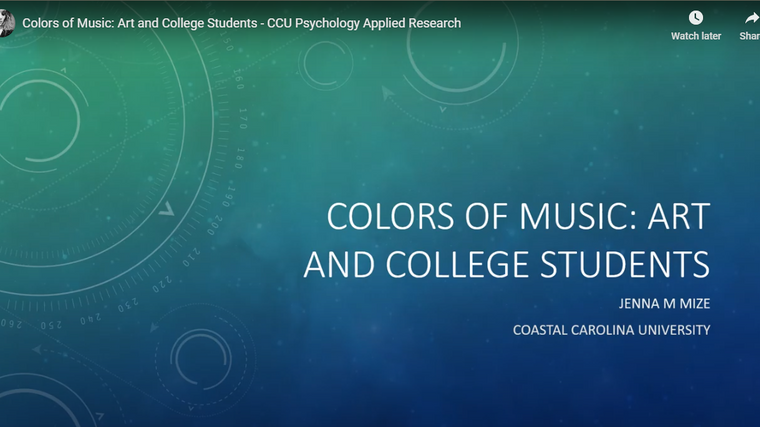 Colors of Music: Art and College Students