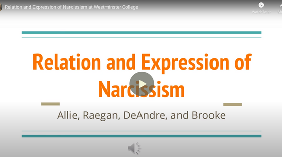The Coexistence of Narcissism and Other Disordered Behaviors and Moods in College Students