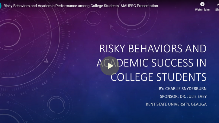 Risky Behaviors and Academic Achievement in College Students