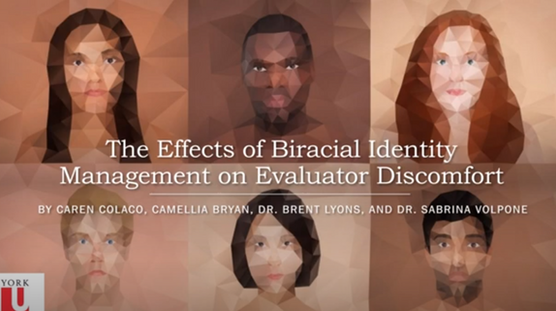 The Effect of Biracial Identity Management on Evaluators Discomfort