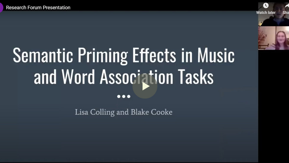 Semantic Priming Effects in Music and Word Association Tasks