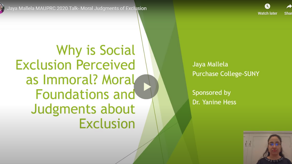 Why is Social Exclusion Perceived as Immoral? Moral Foundations and Judgments about Exclusion