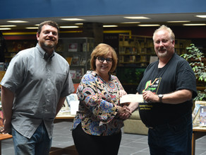 Church Donates Funds for Hunger Relief