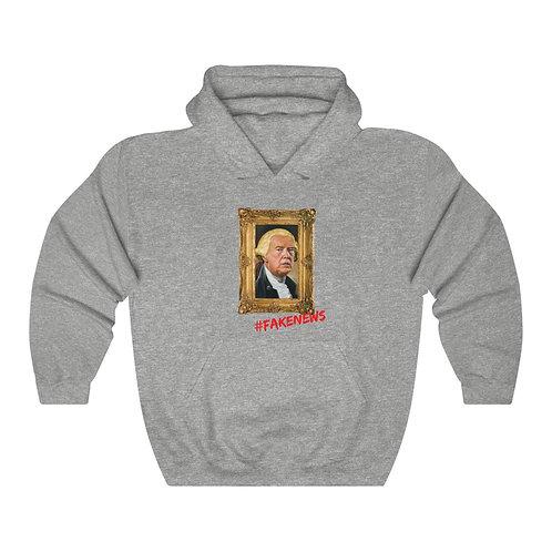 FAKE NEWS Hooded Sweatshirt