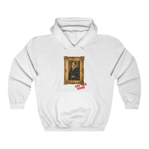 Say Her Name Hooded Sweatshirt
