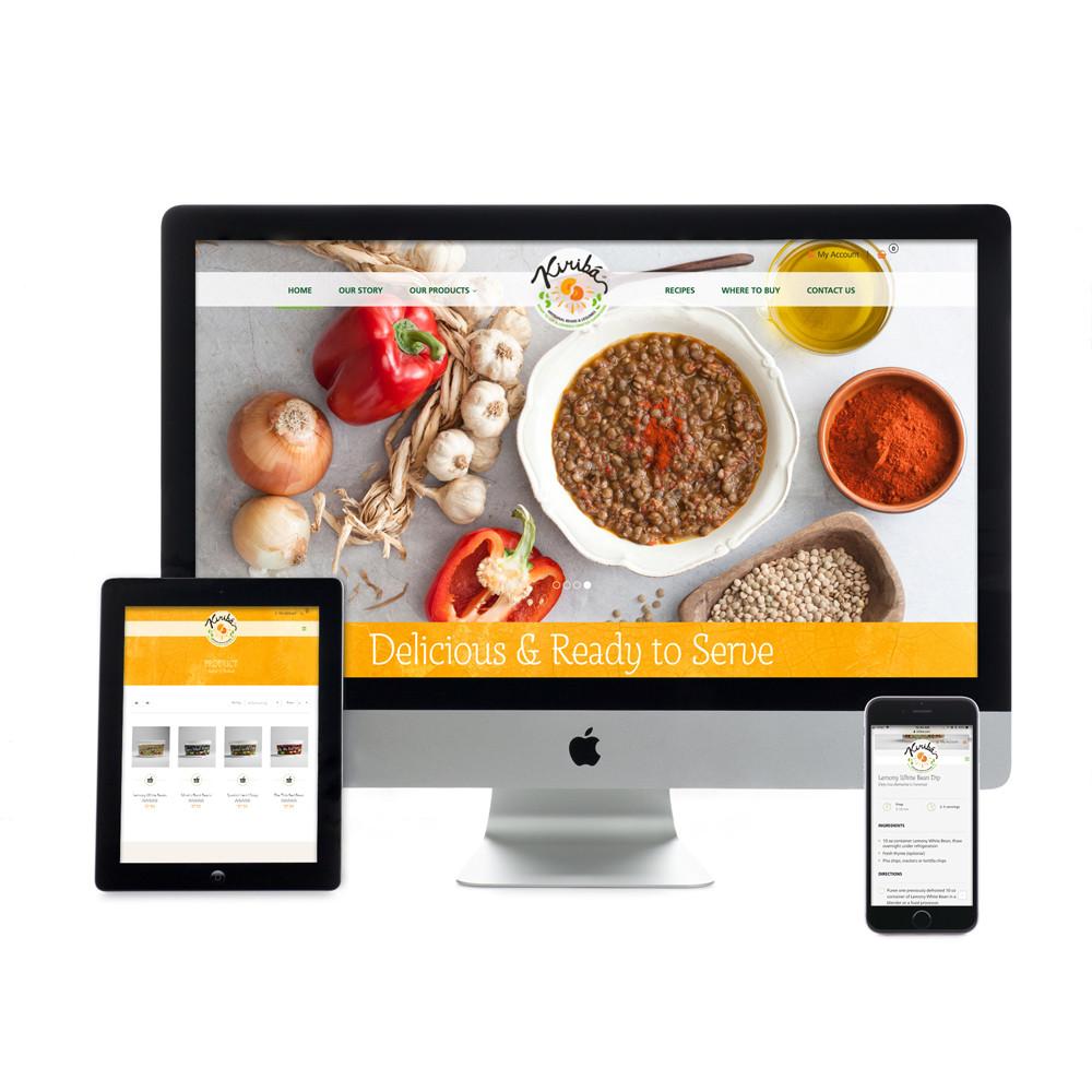 Kiribá Website
