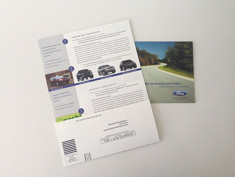 Ford Selfmailer