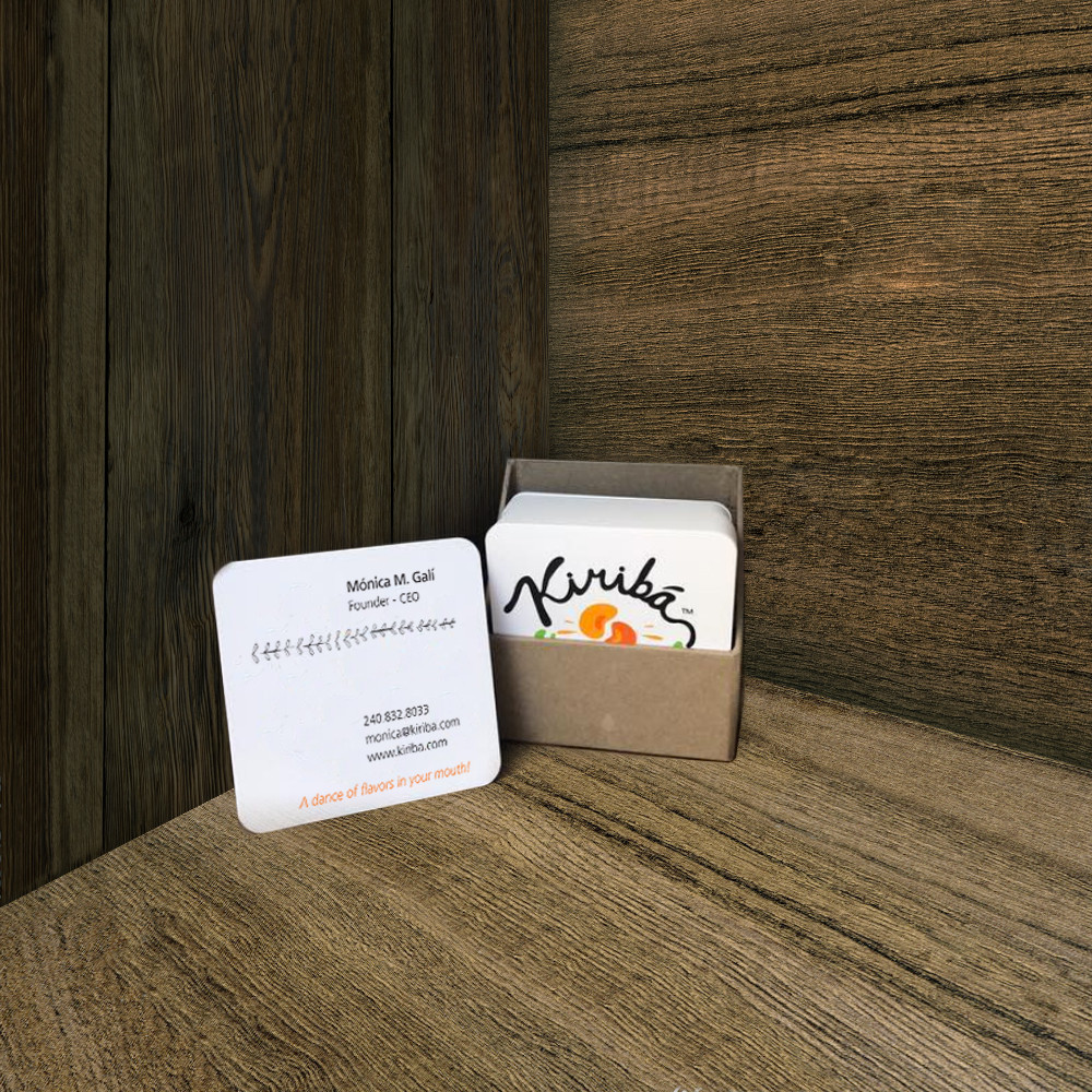 Kiribá Business Card