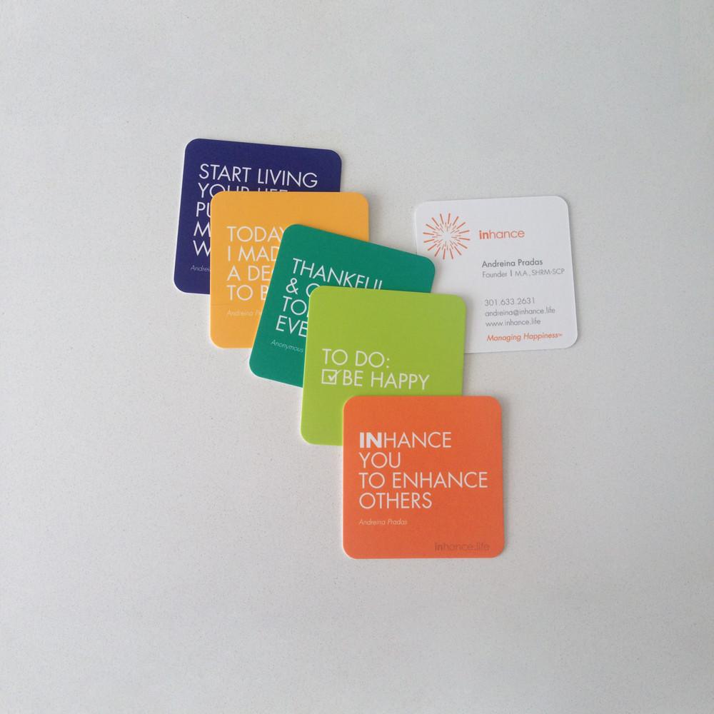 Inhance Business Cards