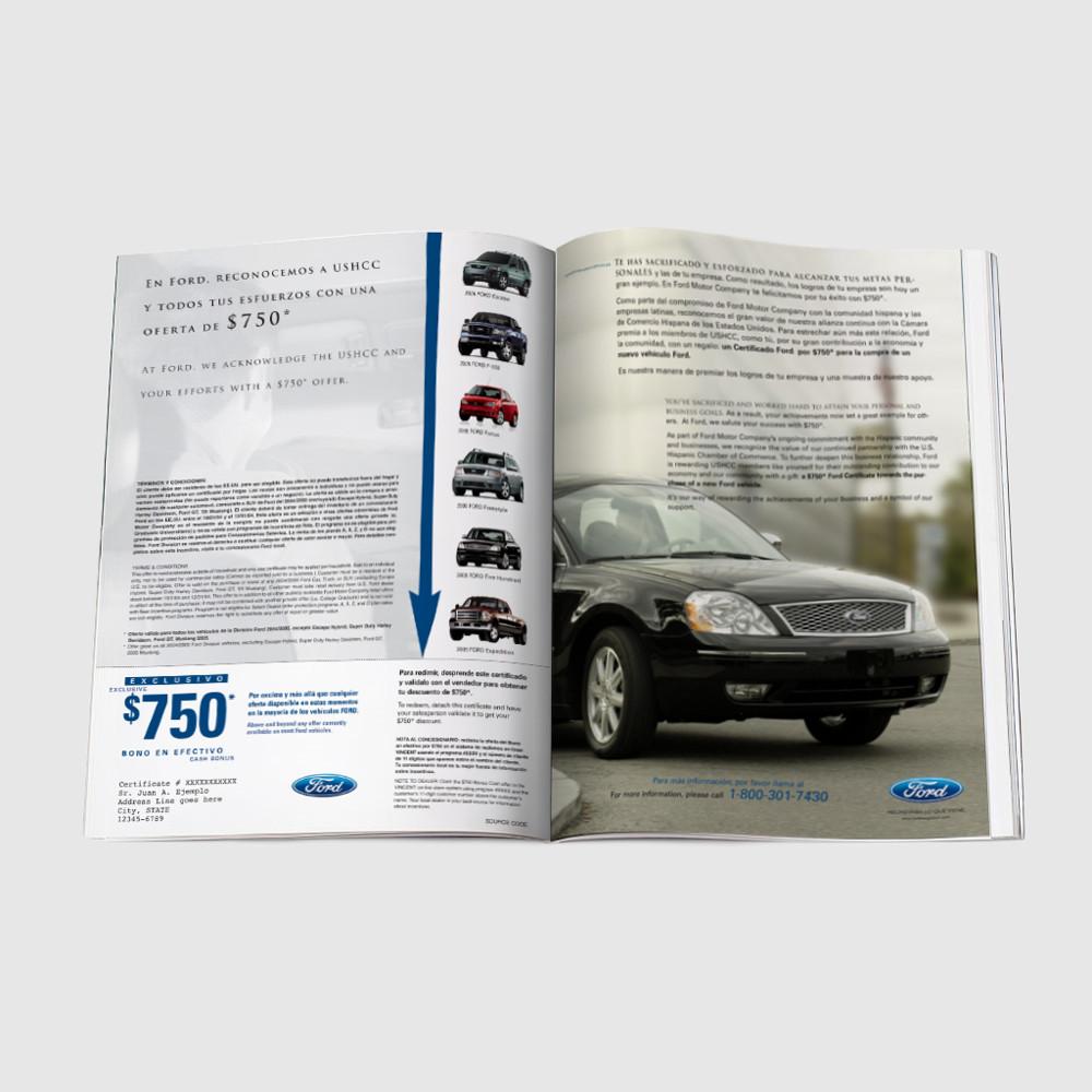 Ford Magazine Insert Spread