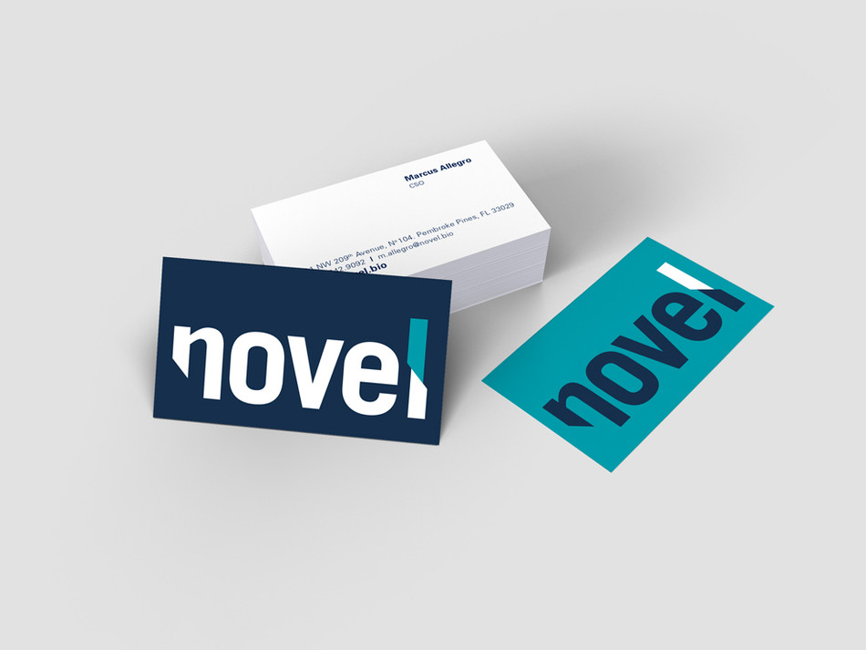 Novel Business Cards
