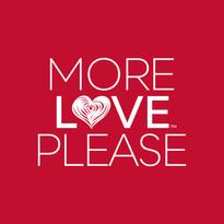"""More Love Please"" T-Shirt Artwork"