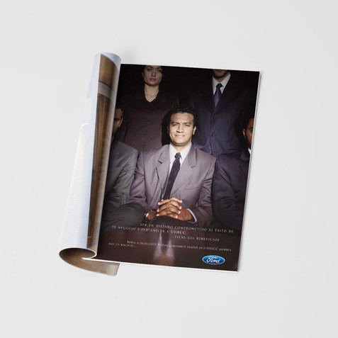 Ford Magazine Insert Cover