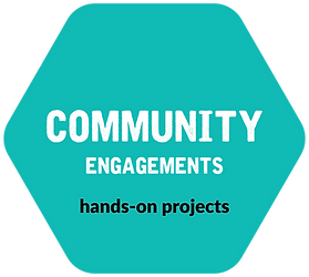 Hexagon - Blue - Community Engagements.p