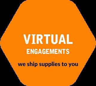 Hexagon - Orange - Virtual Engagements.p