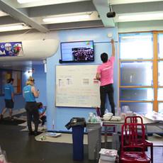 500 Volunteers Help Renovate Gardens & Senior Center