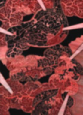 ZIGENDEMONIC-281-(2018)-Stomach,-Red-II.