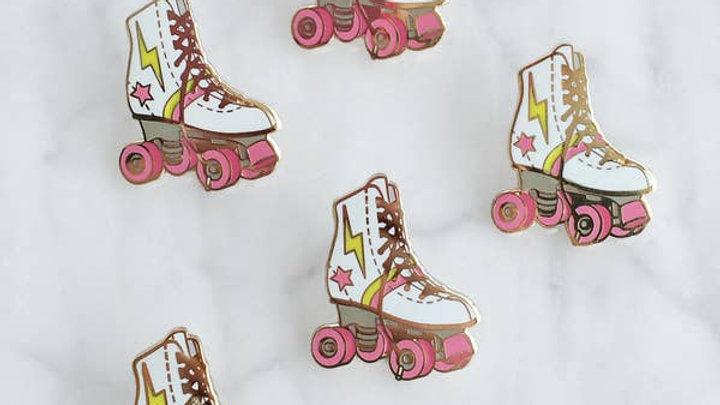 Roller Skate Enamel Pin
