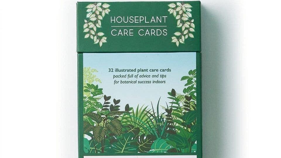Houseplant Care Cards, botanical tips & advice