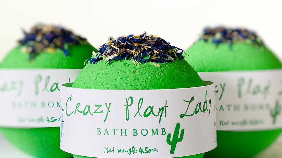 Crazy Plant Lady Bath Bomb