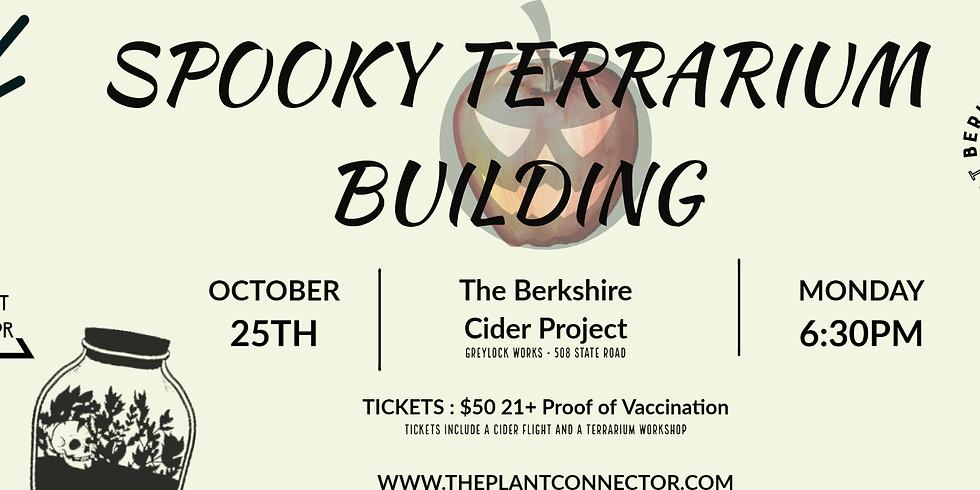 Spooky Terrarium Building @ Berkshire Cider Project