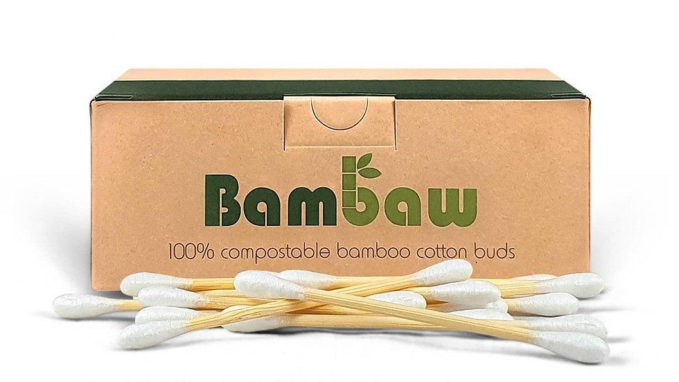 Bamboo Cotton Buds 200 Units