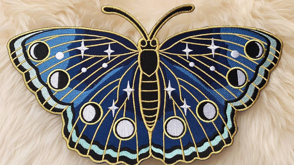 Lunar Butterfly XL Back Patch