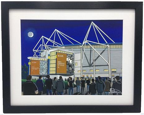 Hull F.C Rugby League KCOM Stadium Framed High Quality Art Print