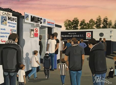 """""""Multiplying Magpies"""". Maidenhead United F.C"""