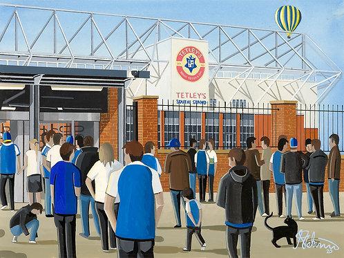 Leeds Rhinos Rugby. Headingley Stadium, Framed High Quality Art