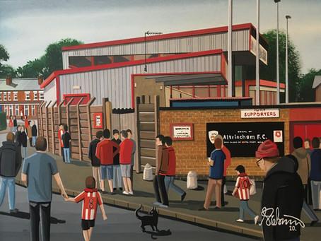 """Moss Lane Domain"". Altrincham F.C, Moss Lane Stadium."