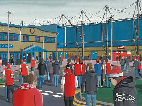 Stirling Albion F.C Forthbank Stadium High Quality Framed Print