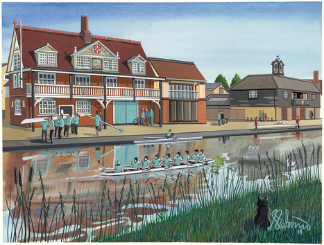 Cambridge University Boat Club, Goldie Boathouse