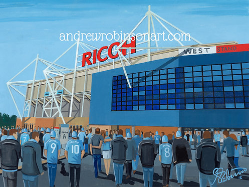 Coventry City FC Ricoh Arena High Quality Framed Print
